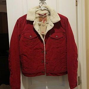 NWT Original Levi's Sherpa Jacket